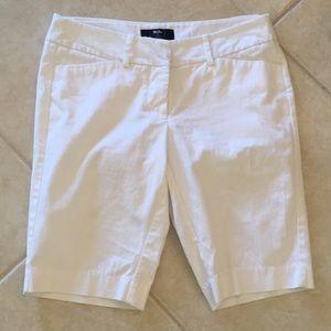 Mossimo white long shorts